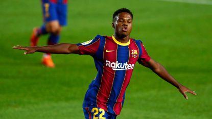 Droomdebuut voor Ronald Koeman in Camp Nou: Ansu Fati (2) en Messi scoren tegen Villarreal