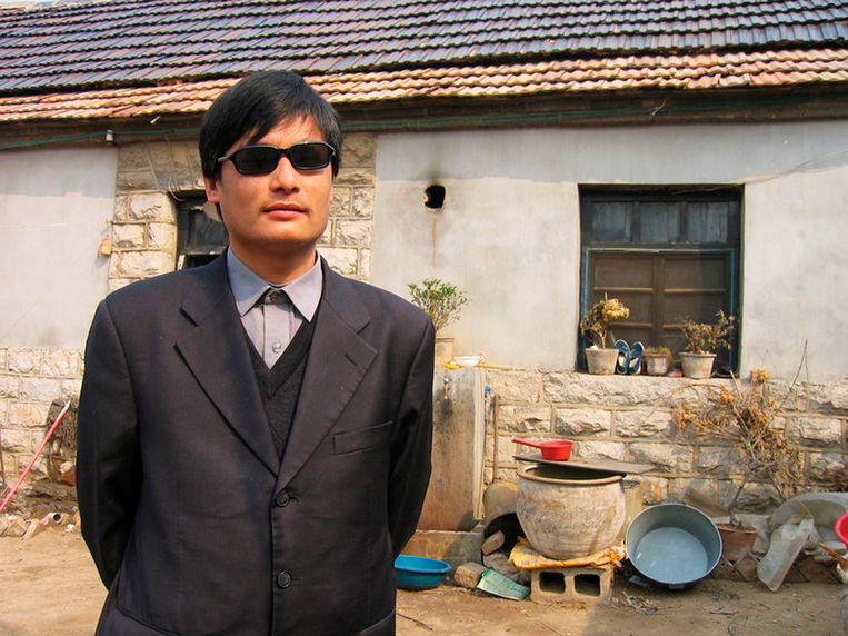 Chen Guangcheng. Beeld REUTERS