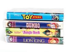 Vos vieilles cassettes VHS Disney valent jusqu'à 15.000 euros