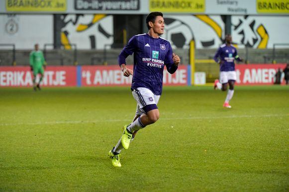 Andy Najar maakte zijn wederoptreden bij de beloften van Anderlecht in de match tegen de beloften van Lokeren. Al heel snel moest hij gekwetst van het veld.