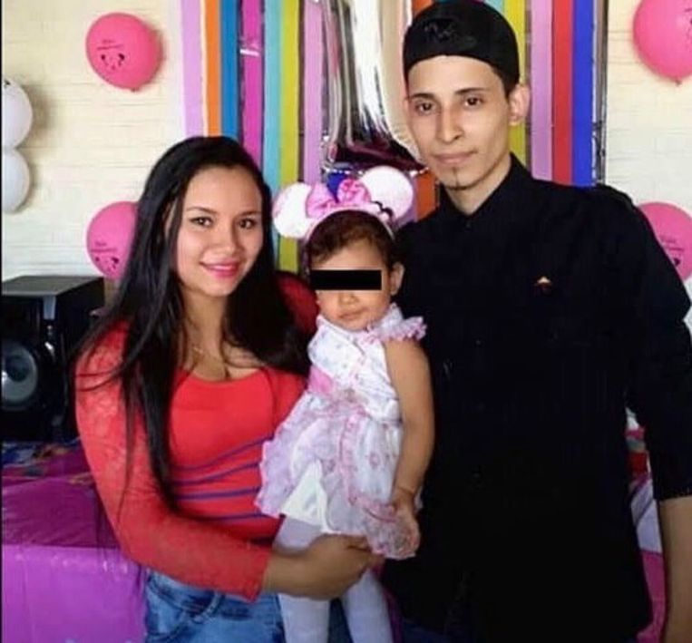 Óscar Alberto Martínez Ramírez, zijn vrouw Tania Vanessa Avalos en hun 23 maanden oude dochtertje Valeria.