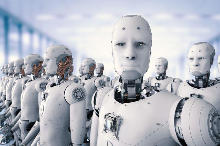 """Experts inzake artificiële intelligentie vrezen dat de Zuid-Koreaanse universiteit met een wapenfabrikant samenwerkt om een leger autonome robots te ontwikkelen die """"de doos van Pandora zou openen."""" Illustratiebeeld."""