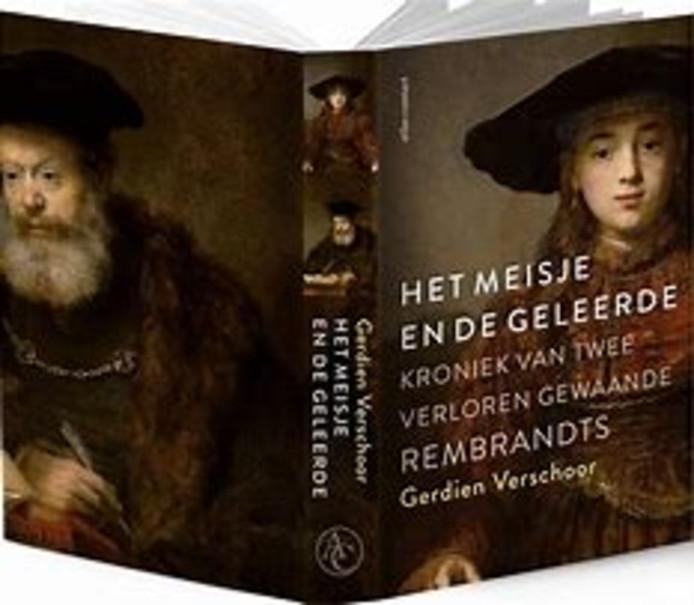 cover van Het meisje en de geleerde van Gerdien Verschoor