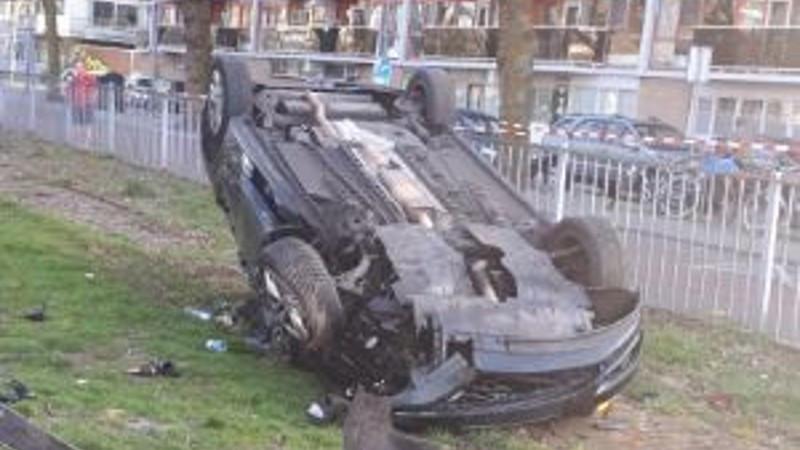 De auto van de verdachten.