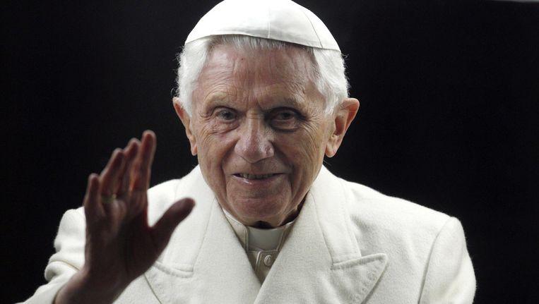 Paus Benedictus XVI heeft in 2011 en 2012 bijna vierhonderd priesters uit hun ambt gezet, omdat ze zich hadden vergrepen aan kinderen. Beeld ap