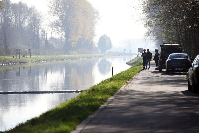 Gisterennamiddag kon het kanaal Leuven-Dijle weer vrijgemaakt worden.