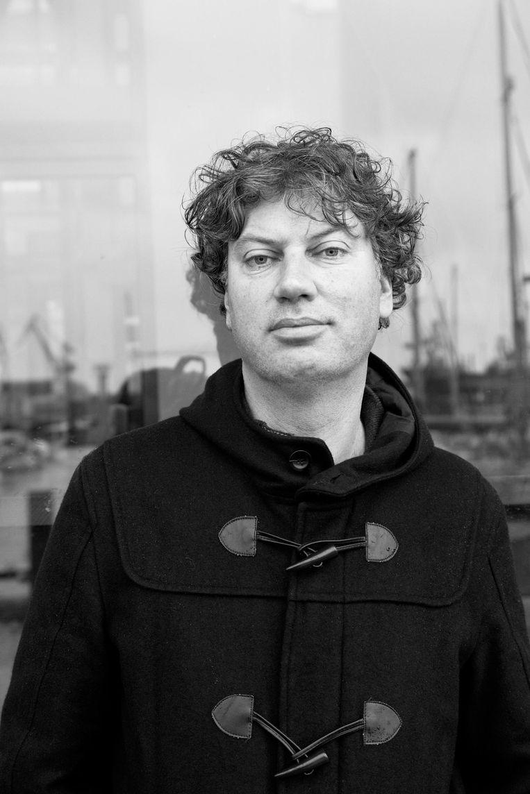 Bas Kok Journalist en schrijver van Metromorfose en Oerknal Beeld Roi Shiratski