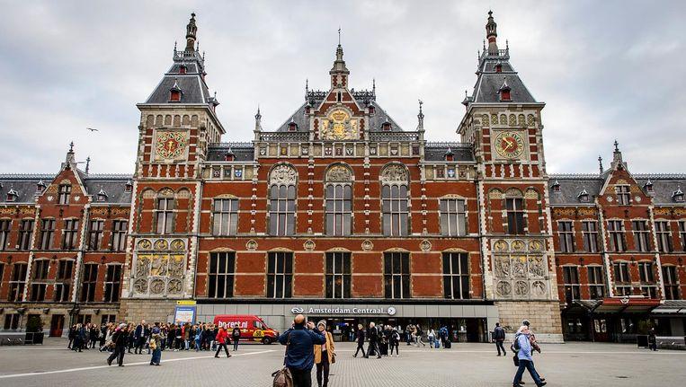 Amsterdam CS. Beeld ANP