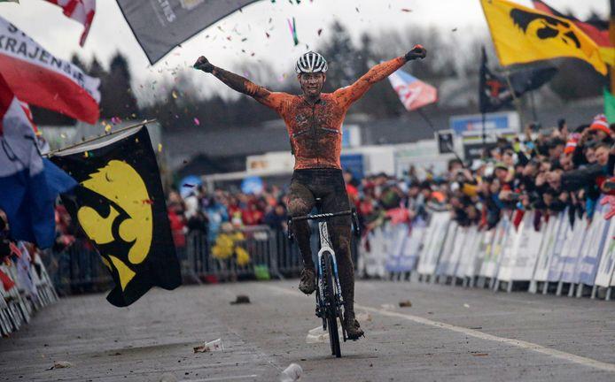 Wereldkampioen Van der Poel.