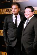 Leonardo DiCaprio op de rode loper met Jho Low.