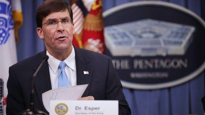 Trump wil Mark Esper voordragen als Amerikaanse defensieminister