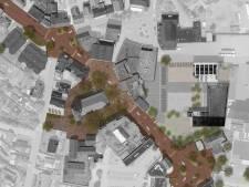Schets 'nieuwe' Grotestraat in Markelo