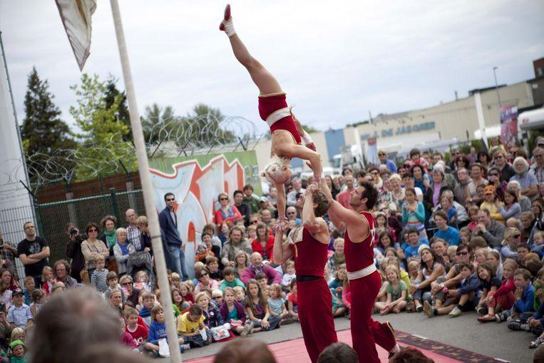 Een archieffoto van Cirque Plus, toen nog in Het Entrepot.