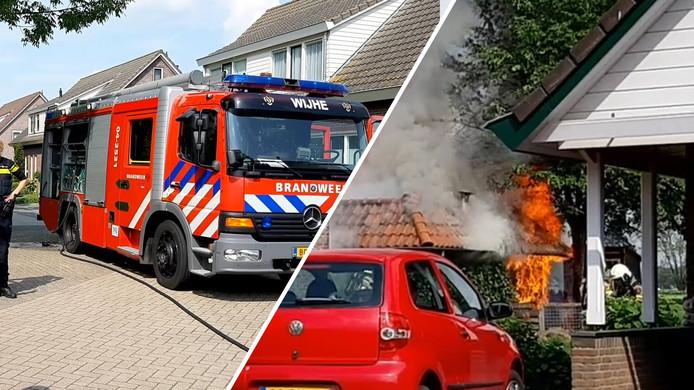 Brand in Boerhaar