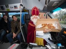 Sint Kruitbosch (75) neemt afscheid van buurtbus in Wijhe
