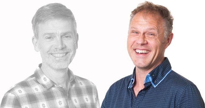 Kees Jansen (links Henk Aalbers).