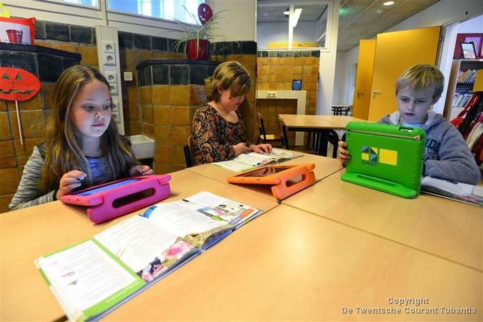 Onder andere bij basisschool De Lipper in Enschede wordt al gewerkt volgens de Steve Jobs-methode