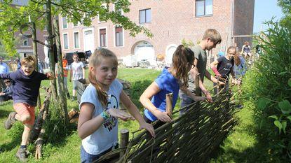 Leerlingen worden landschapsbouwer voor één dag
