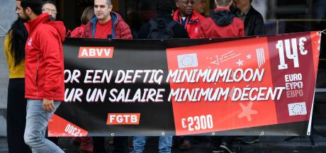 "Salaire minimum: la FGTB menace d'actions de ""désobéissance civile"""