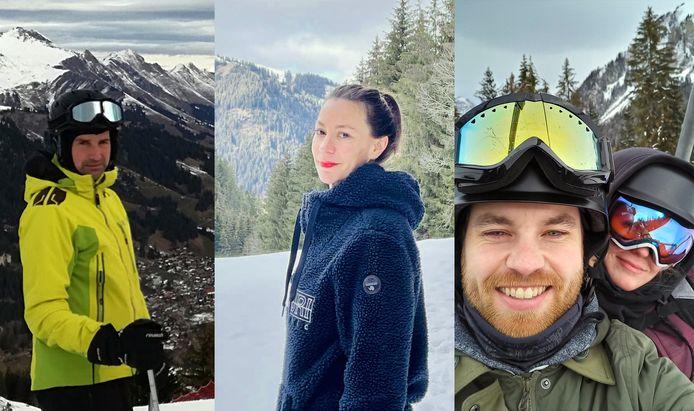 Vlamingen op skireis.