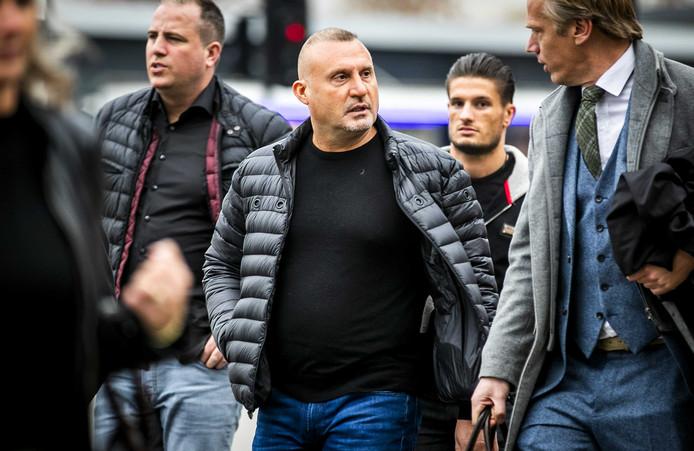 Klaas Otto, de oprichter van motorclub No Surrender, die eind oktober werd veroordeeld tot zes jaar gevangenisstraf (en daarna hoger beroep aantekende).