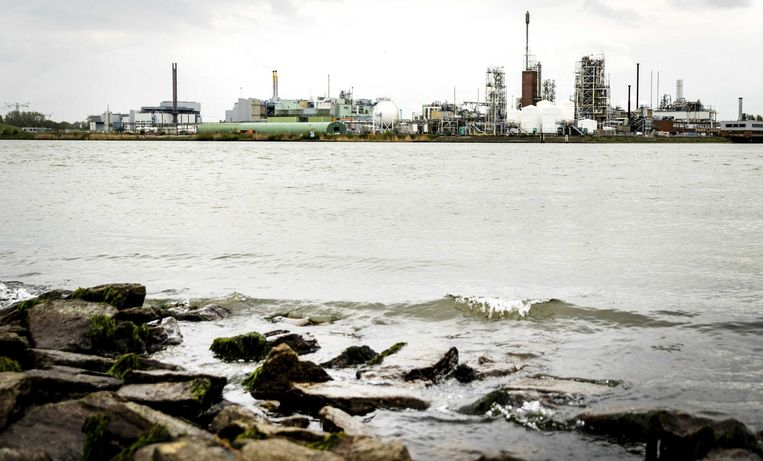 Chemours in Dordrecht. Beeld anp