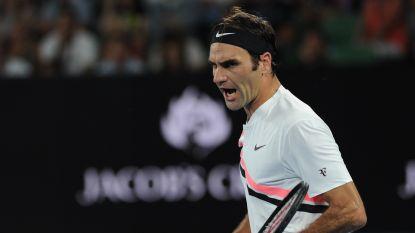 Federer blijft zonder setverlies -Djokovic goed op dreef - Goffin-killer struikelt over Fognini