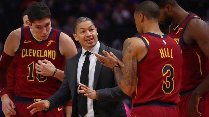 Cleveland stuurt coach Tyronn Lue de laan uit na dramatisch seizoensbegin in NBA
