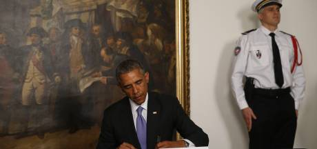 Obama condoleert Fransen: Vive la France!