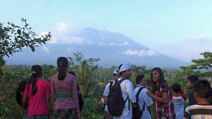 Duizenden inwoners en toeristen rond vulkaan Bali geëvacueerd