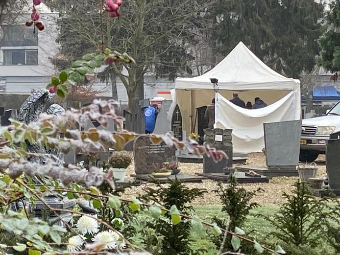 Onderzoek op begraafplaats Maastricht