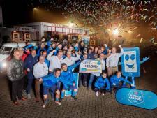 Feest voor DSV Full Speed: 10.000 euro voor volleybalvelden