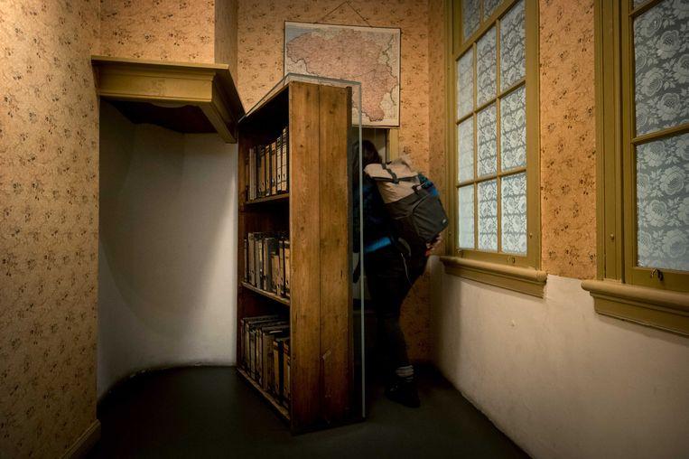 Het Anne Frank Huis. Beeld ANP / Koen van Weel
