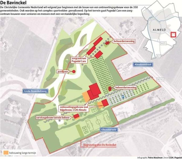 Het plan van CGN en Pagedal Care. Infografiek Petra Meulman