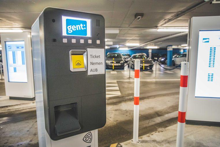Wie parking Reep binnenrijdt moet weer een ticketje nemen.