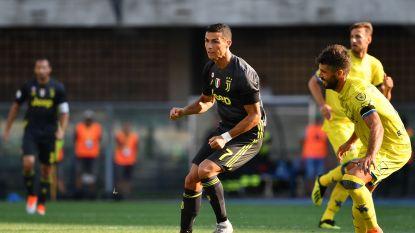 LIVE BUITENLAND. Juventus kruipt door kleinste gaatje nadat Ronaldo de pineut leek te worden - Hazard valt in en zorgt voor assist!