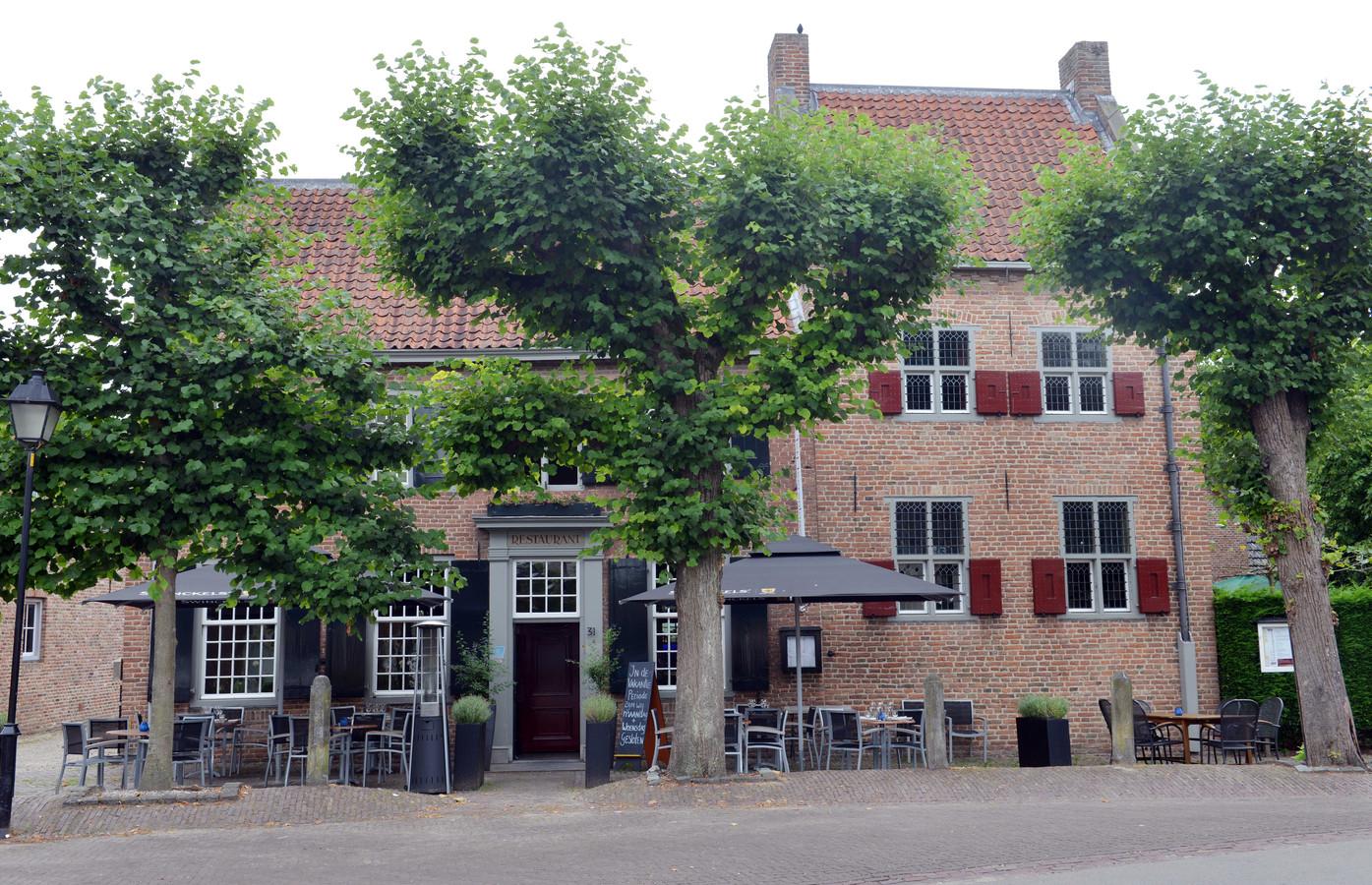 Theater Heerenlogement aan de Markt in Beusichem.