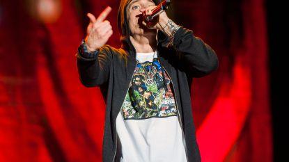 """Grote paniek tijdens concert rapper Eminem: """"Mensen begonnen te gillen en probeerden weg te rennen"""""""
