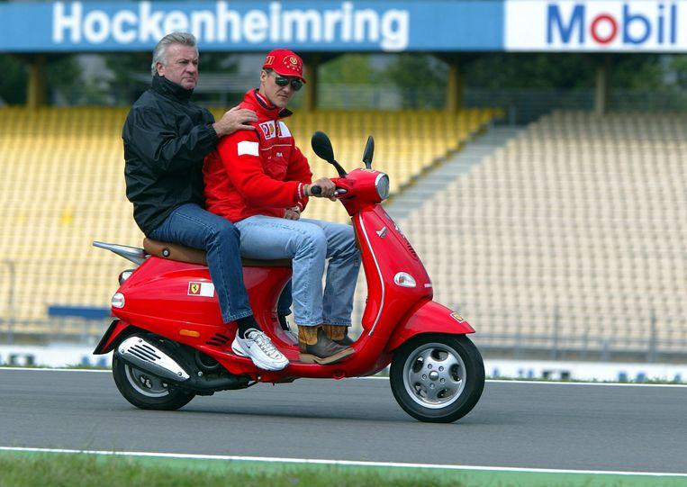 Michael Schumacher en Willi Weber.