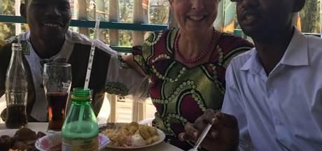 Ria uit Eersel opent ontmoetingscentrum in stad in Rwanda