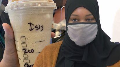 Barista schrijft 'ISIS' op koffie moslima