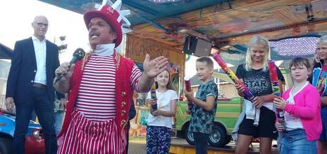 Clown Milko opent Schaijkse kermis
