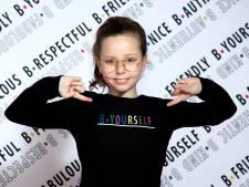 Spakenburgse Suze (10) wordt niet meer gepest én komt met eigen kledinglijn tegen pesten