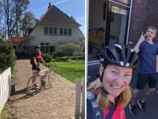 Mentor Evelien (34) fietst 200 km om al haar leerlingen te verrassen
