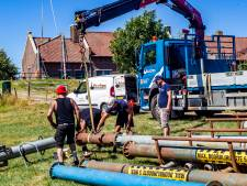 Noodpomp in Terwolde helpt de droge Veluwe aan een beetje IJsselwater