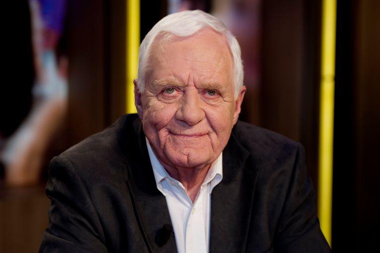 De bekende tv-presentator, televisiemaker en journalist Aad van den Heuvel is op 84-jarige leeftijd overleden.  Beeld ANP Kippa