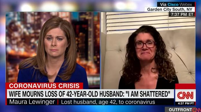 Une veuve américaine raconte sur CNN comment elle a dit adieu à son mari, décédé du Covid-19