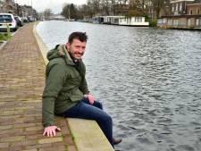 Drijvende tuinen in water Kattensingel: 'De drijvende tuinen maken het aanzicht veel fraaier'