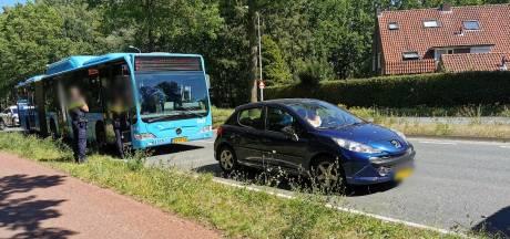 Vrouw raakt gewond na botsing met lijnbus in Wageningen