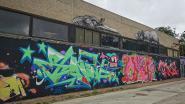 Graffitikunstwerk voor George Floyd al helemaal verdwenen